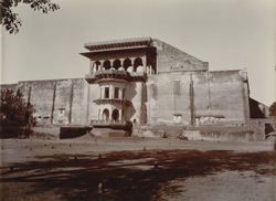 Krishn Bhawan, Deeg, from South